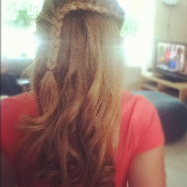 blondine braid