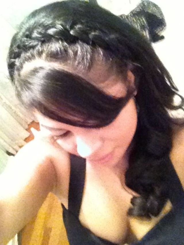 braid as a headband