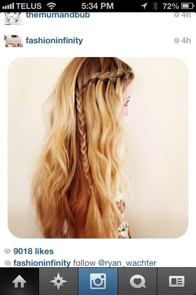 braid down