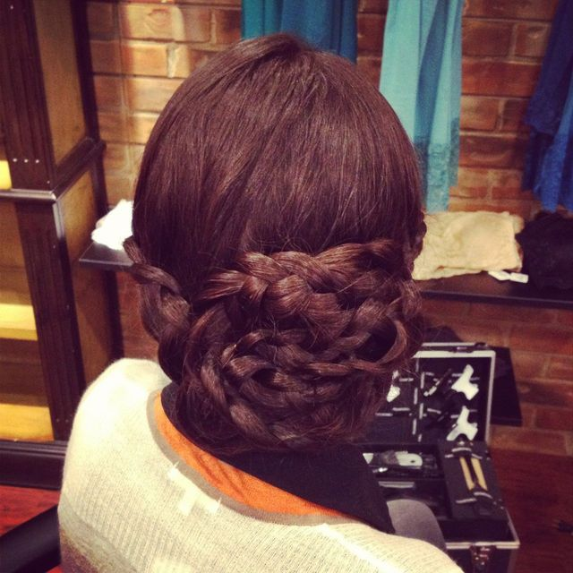 braid up-do