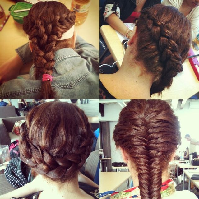 braided collage