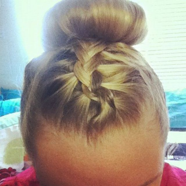 braided sockbun