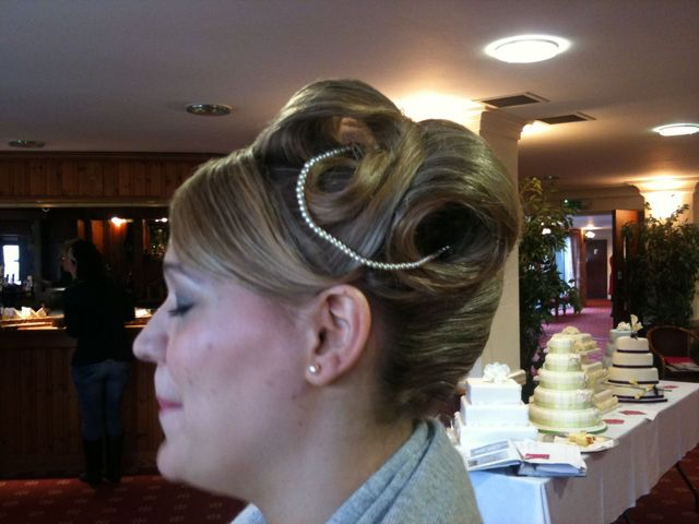 bridal pleat