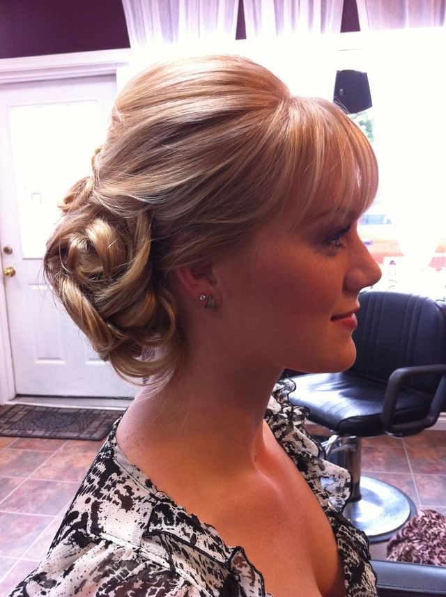 bridal updo by Aimee Jadore