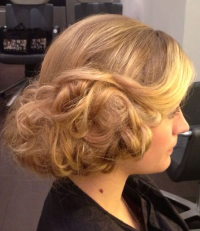 bridal updo by Lisa