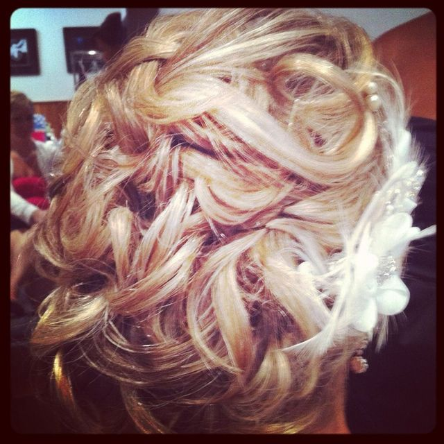 bride up- do