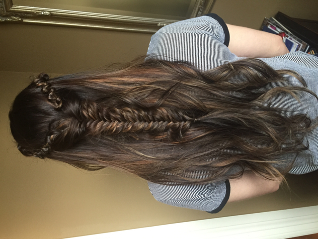 Balayaged Braid
