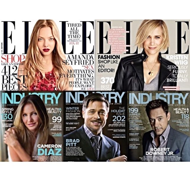 Voted top salon in elle