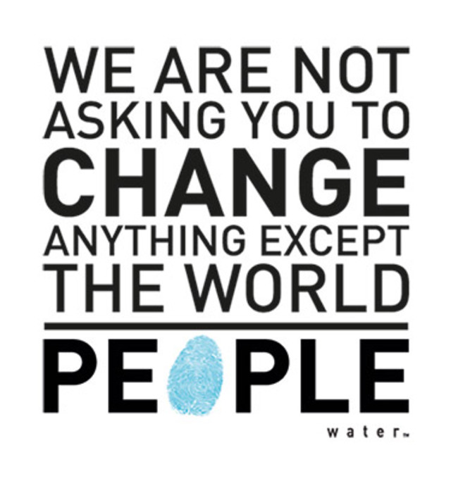 People-Water-change