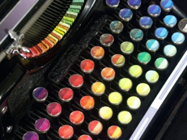 Chromatic Typewriter