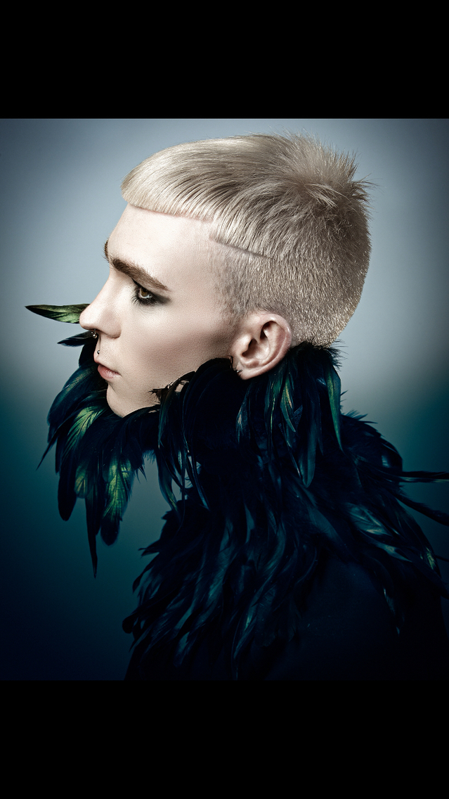 From SIGNATURE Collection for Alfaparf Milano hair Paul Stafford colour Aidan Bradley photo Lee Mitchell