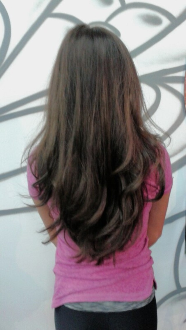 bouncy blowdry by me