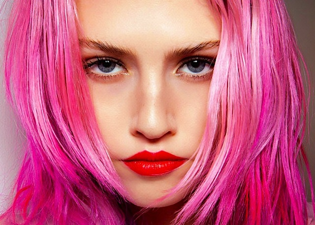 Pink Hair Trend