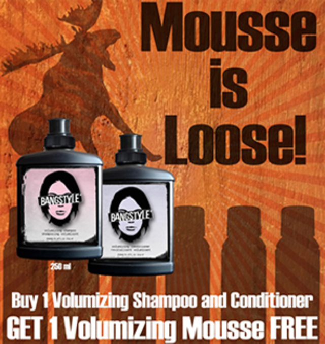 Bangstyle Mousse Loose Deal