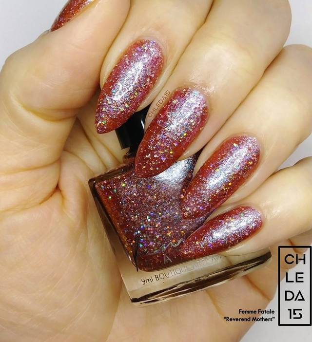"Femme Fatale ""Reverend Mothers"" Swatch"