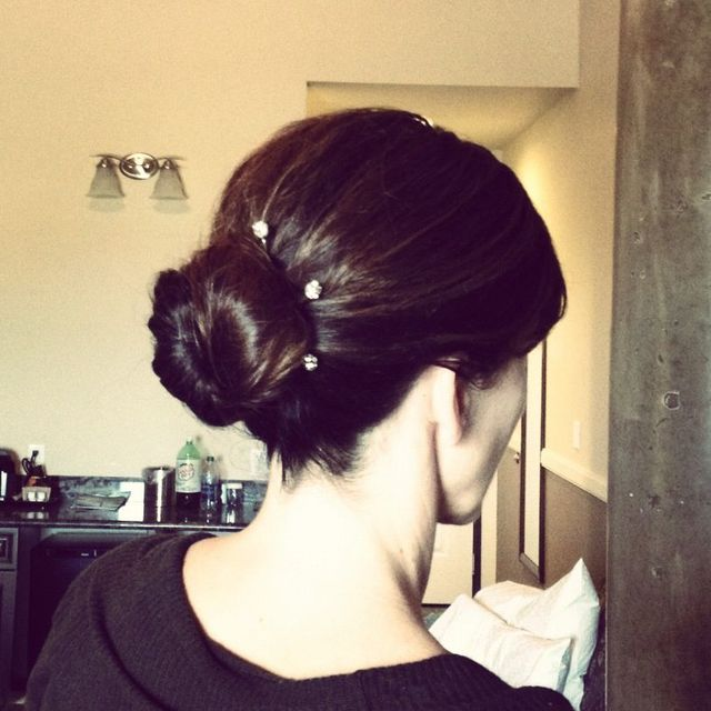 classic bun up-do
