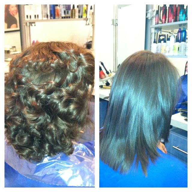 color and keratin