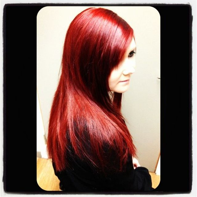 color red hair