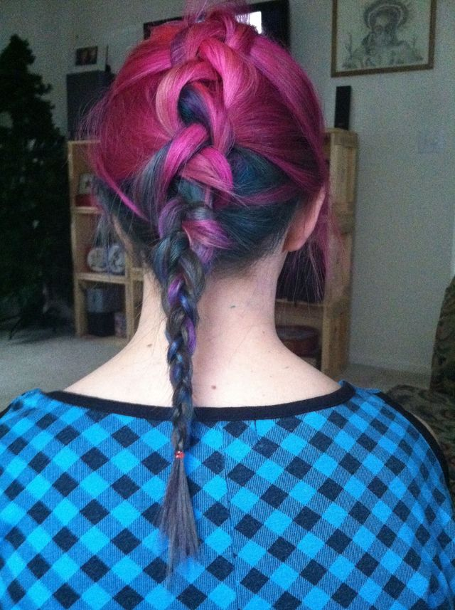 colorful braid