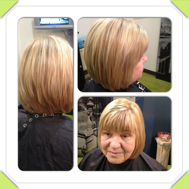cut color and highlights