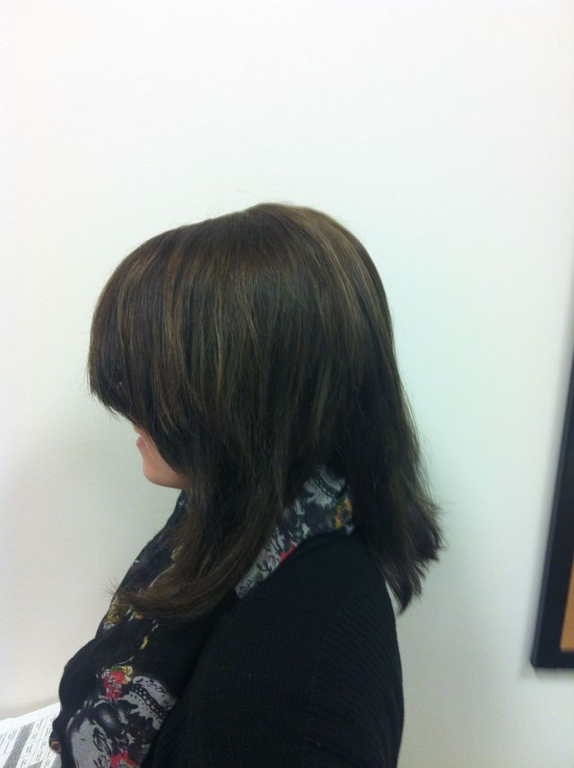 cut color highlights