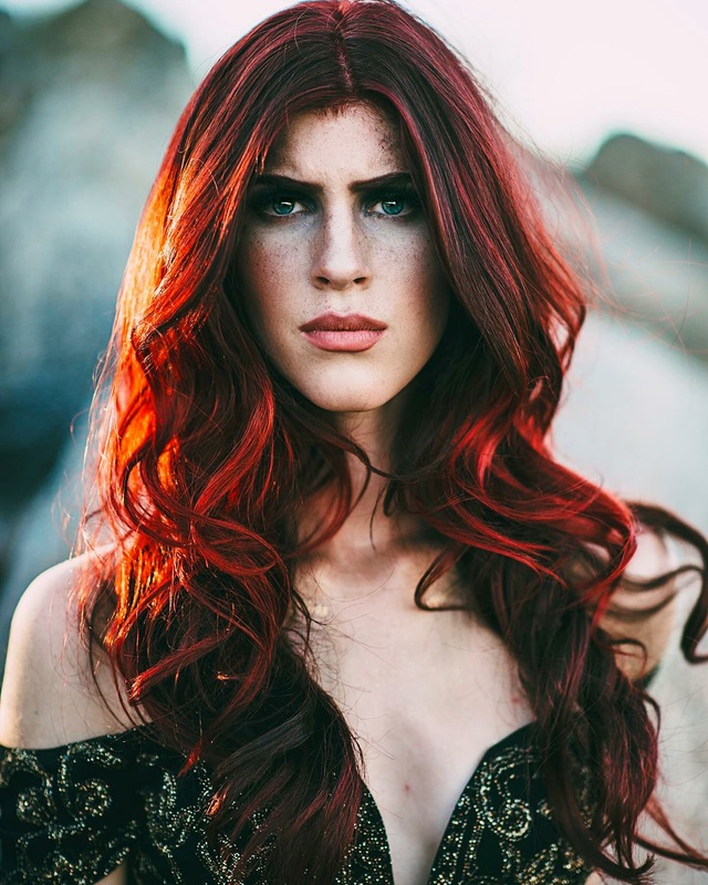 Red dream : hair by Anna Bianca