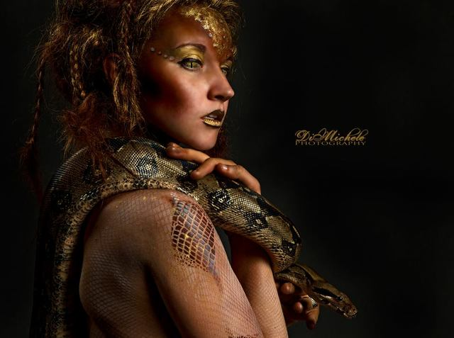 The Snake Goddess Medusa