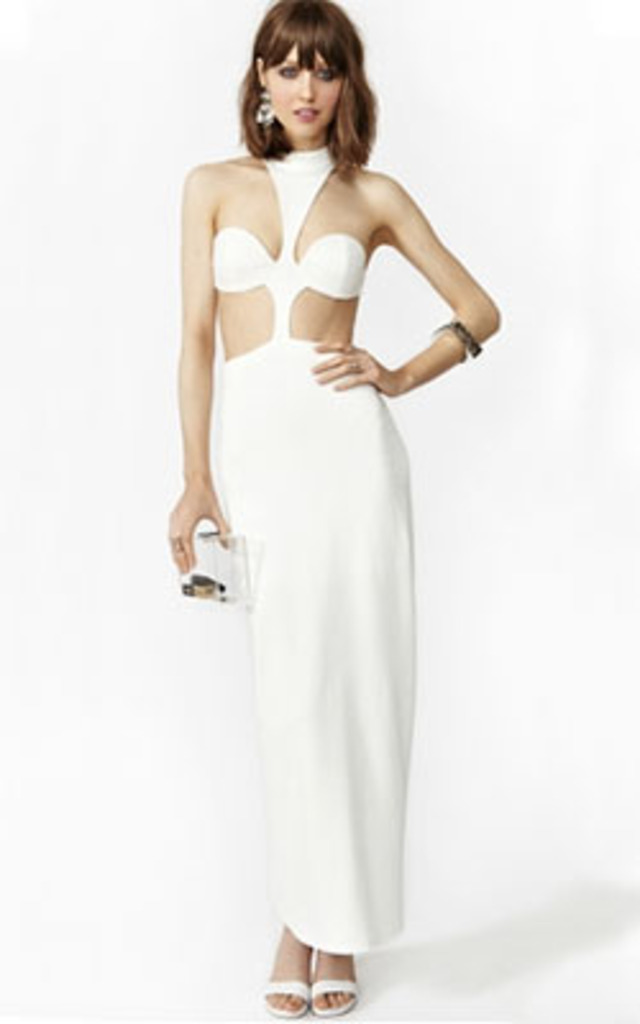 Venus Maxi Dress – White