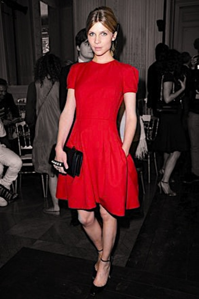 red dress inspiration