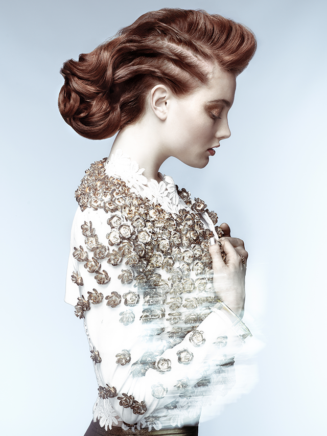 Luxury Collection 2012- Up Do Braid