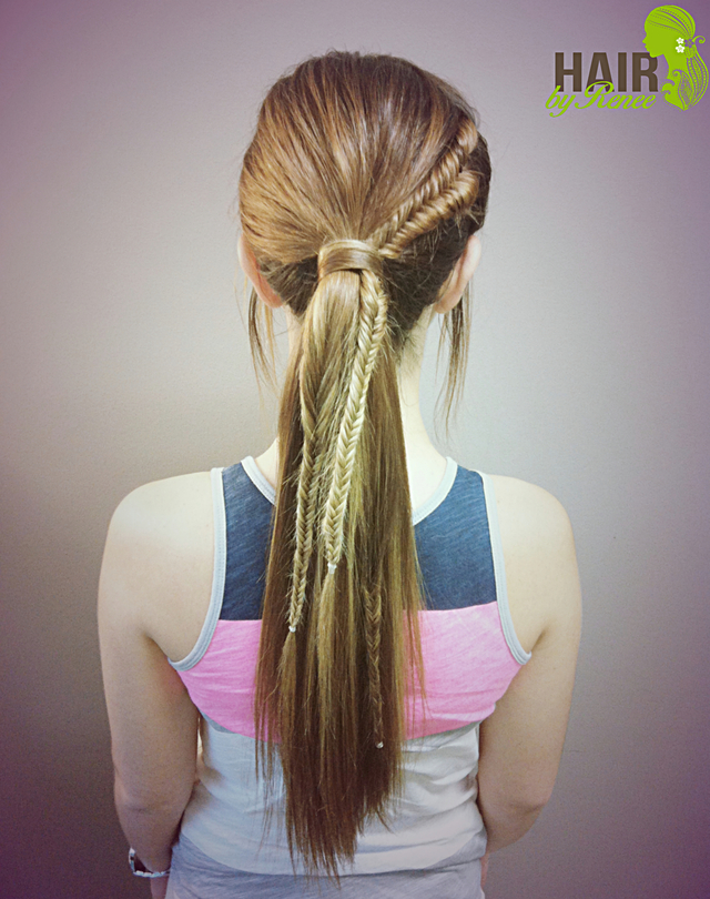 Fishtail 'n Ponytail