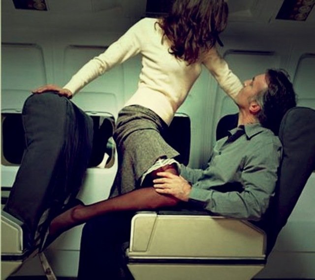 airline mile high club sex