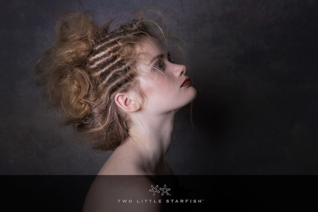 Gabby, editorial shoot 2. Hair,styling Laurel Stratford  Images two little Starfish MUA Annalise Bergman