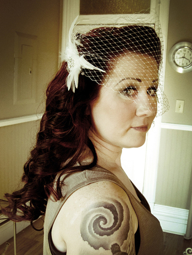 Retro-Inspired Bride