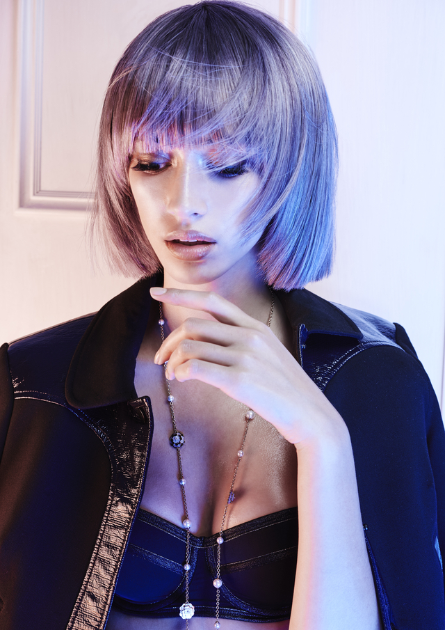 AHFA Finalist NSW Hairdresser of the Year 2016. Hair: Alexander Fuchs at Bauhaus Hair Photo: David Mannah MUA: Casey Gore Styling: Emma Cotterill