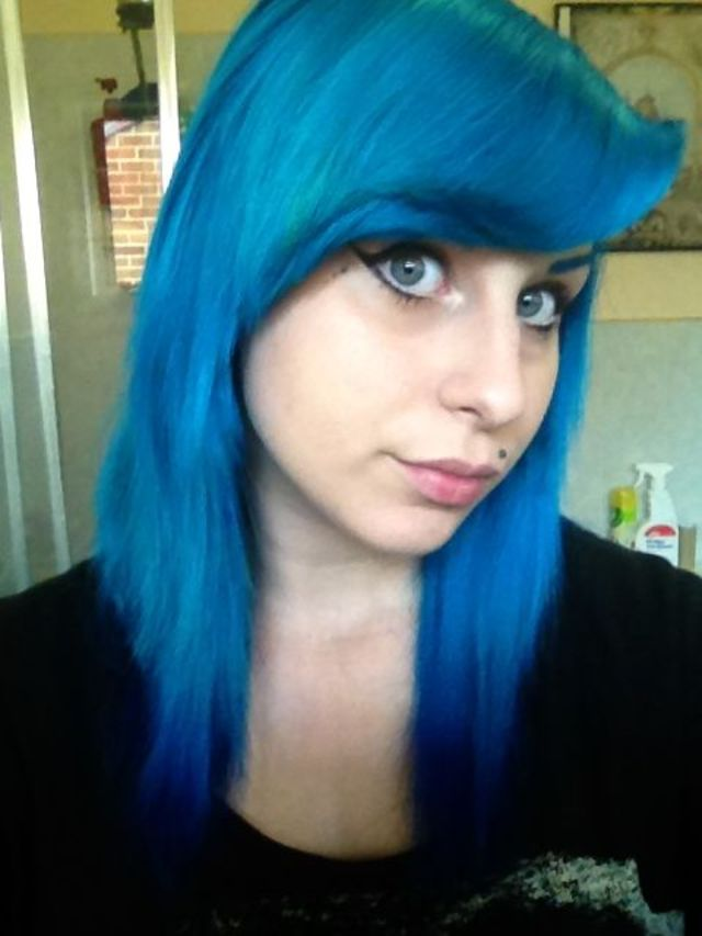 darker blue hair