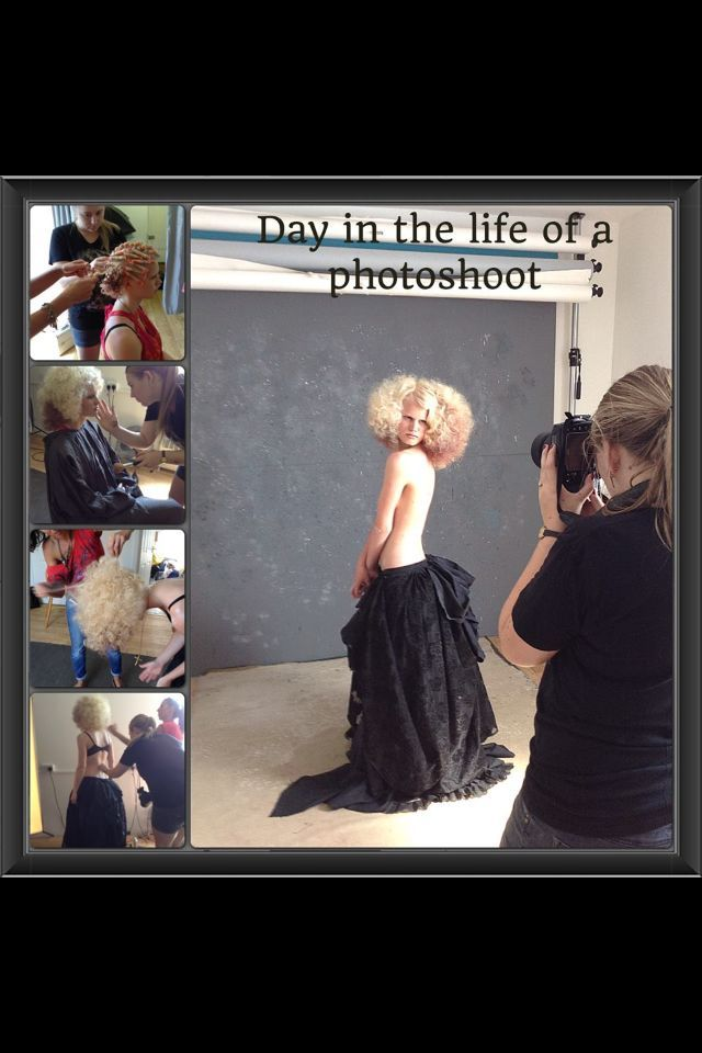 day in the life of a photoshoot