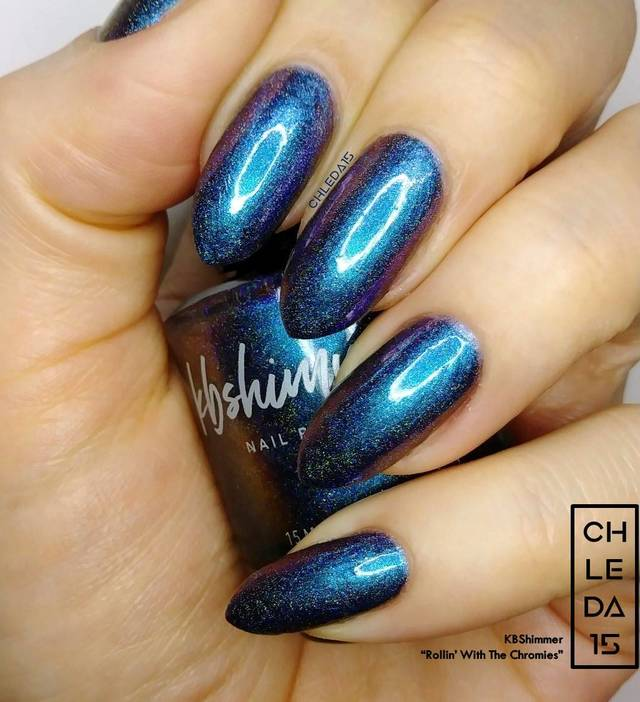 "KBShimmer ""Rollin' With The Chromies"" Swatch"
