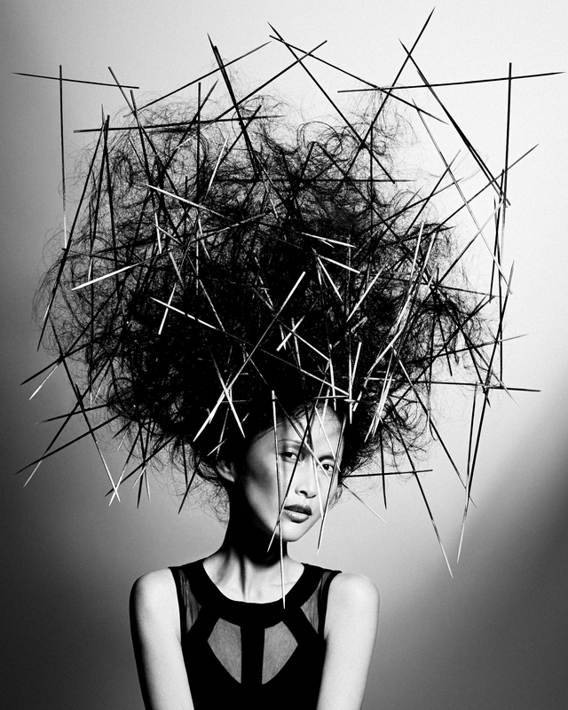 British Hairdressing Awards 2015_Avant Garde hairdresser of the year finalist