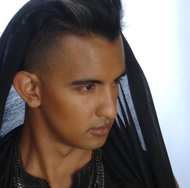 Model: Edgar Guzman Hair by: Rachel La'Roux  Photography: Roy DiMarco