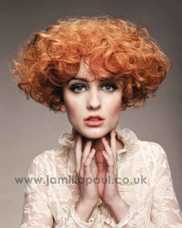 BHA Collection Orange Curls
