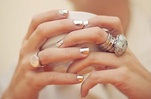 Metallic-Nails