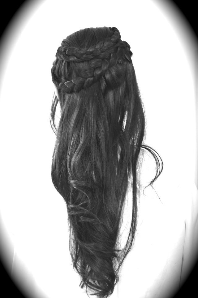 Jaunty braid crown