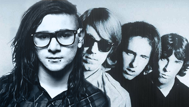 doors skrillex Bangstyle JR Quion Art