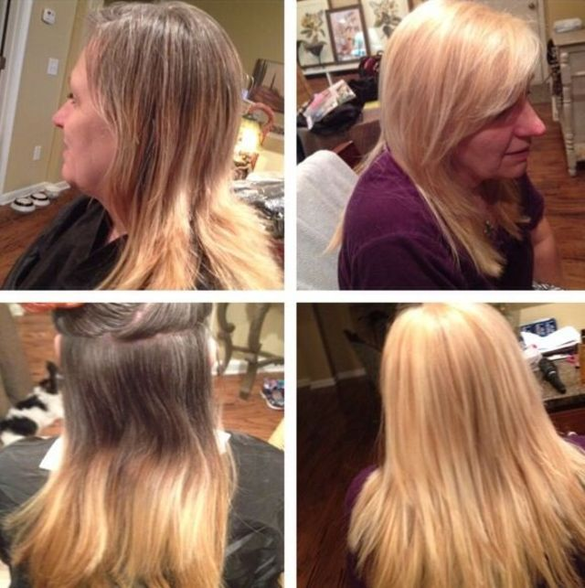 double process w highlights