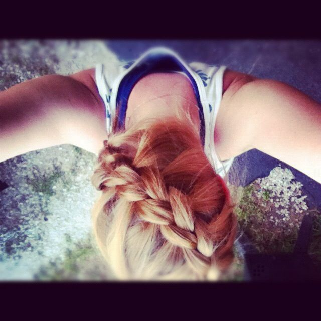 dutch braided across