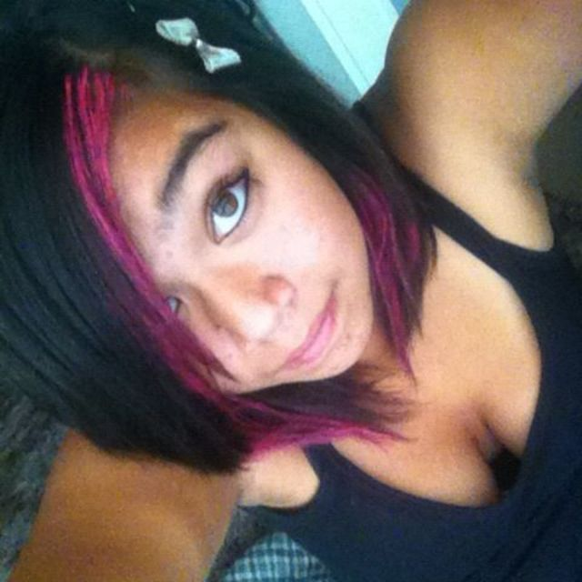 dyed my hair :D