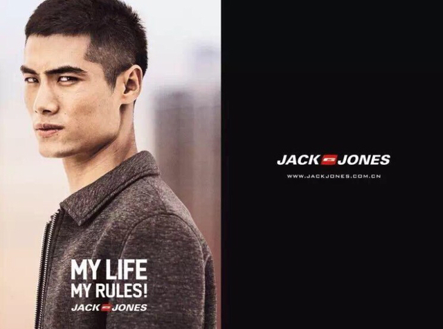 I cropped hair short and tight  for jack jones ss2016 campaign