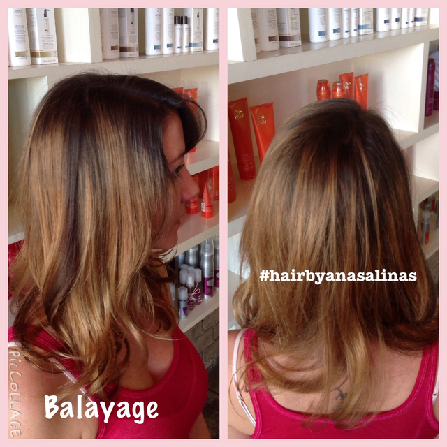 Hair by Ana Salinas BALAYAGE