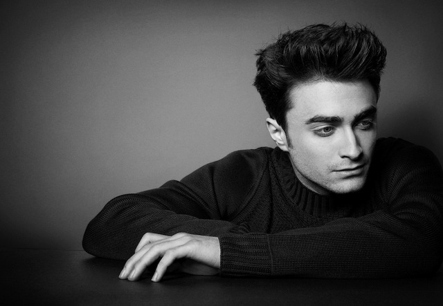 Daniel Radcliffe for OUT Magazine cover. March 2013 Hair by Dan Gregory